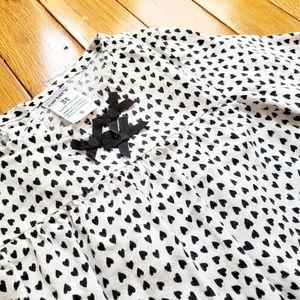 CARTER'S heart polka dot girls shirt 3T